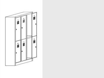 Daiktų saugojimo spintos | SZ-0013