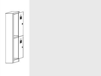 Daiktų saugojimo spintos | SZ-0014