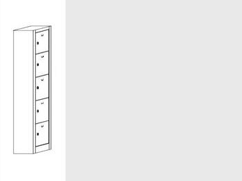 Daiktų saugojimo spintos | SZ-0015/4